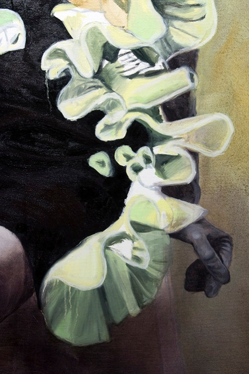 Personification (Detail), Oil on Canvas, 6.5 X 5.5 ft.