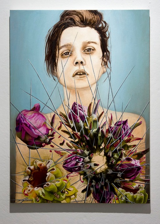 Scent Trap, Oil on Canvas, 26 X 36
