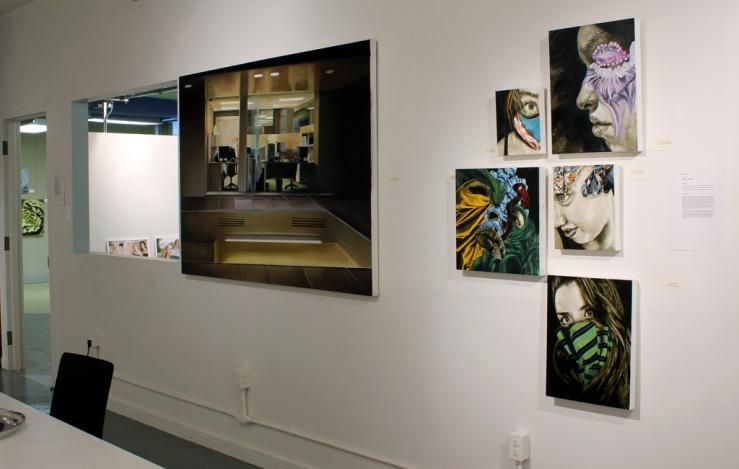 """Surfacing"" Exhibition Installation Shot"